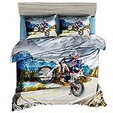 Ci vuole la metà del tempo per dormire a letto tutti i giorni. Devi scegliere il set di biancheria da letto giusto. Le comode lenzuola sono abbastanza morbide per darti una buona notte di sonno. Design elegante, bellissimi colori, aggiungono uno stil...