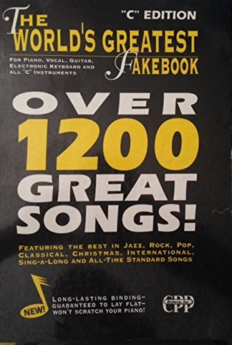 The World's Greatest Fakebook For Piano, Vocal, Guitar, Electronic Keyboard and All C Instruments (1995-08-01)