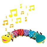 """Lamaze Babyspielzeug mit Musik """"Musik-Wurm"""" mehrfarbig – hochwertiges Kleinkindspielzeug – fördert den Tastsinn und das Hörvermögen Ihres Kindes – ab 0 Monate - 2"""