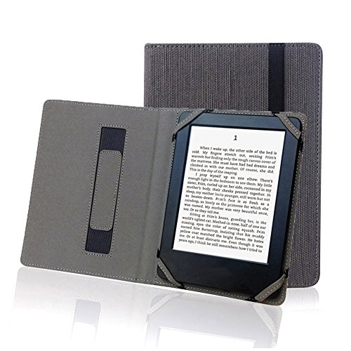 Natur Leinen Schutzhülle für 15,2cm eBook Reader universal Hanf Schutzhülle für Sony/Kobo/Tolino/Pocketbook 15,2cm eBook - Reader Für Ebooks Sony