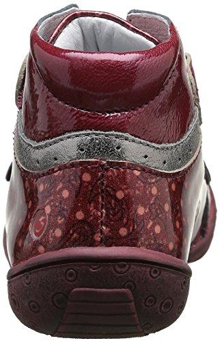 GBB - Nicoline, Sneaker Bambina Rosso (Rouge (36 Vvn Bordo/Imprimé Dpf/Heidi))
