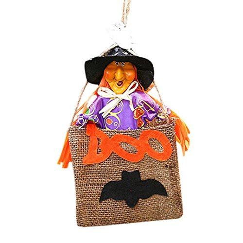 Hirolan Halloween Geschenk Niedlich Hexen Süßigkeiten Tasche Verpackung Party Lagerung Tasche (Mittelalterliche Doktor Kostüm Pest)