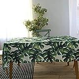 BZ-ZXS Tischtuch Home Plant Tablecloth Kitchen Cloth Kleine Frische Tischdecke WohnzimmerTischschutz,Planttablecloth,100 * 140CM