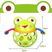 Preisvergleich für Baby-lustiges Spielzeug Kinder pädagogische Frosch Hand bunte sensorische Ball Kinder Funnny Ball Spielzeug Geschenk