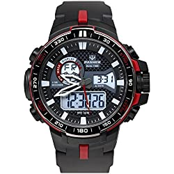boys digital watch/Dual sport watch/Outdoor waterproof watch-F