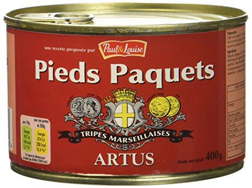 Paul & Louise, Pieds paquets, tripes marseillaises, la boite de 400g