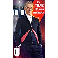 """Doctor Who """"General Happy"""" Birthday Card"""