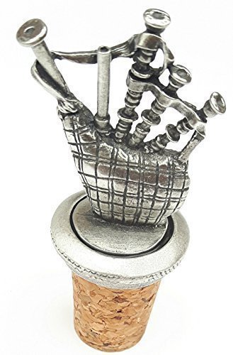 DUDELSACK handgefertigt aus Englisch Zinn Flasche Stopper + giftbag