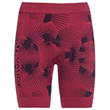 VAUDE Wo Sqlab Lesseam, Pantalone da Ciclismo Donna, Crimson Red, 44/46