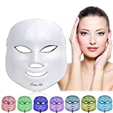 LED Face Mask,Light Therapy Acne Mask,LED Facial Mask,Phototherapy Mask,LED Electric Facial Mask,7 Color