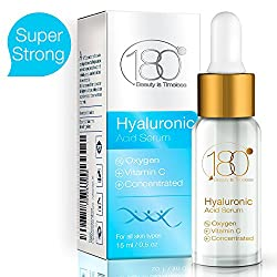 180 Cosmetics Pure Swiss Pure Swiss Hyaluronic Serum + Oxygen for Youthful Rejunevanted Skin Anti Aging Anti Wrinkle Instant Lift Solution