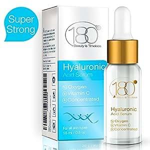 180 Cosmetics IL MIGLIOR siero di acido ialuronico con ossigeno e vitamina C