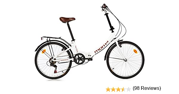 Moma Bikes First Class Blanca V/élo Pliant Adulte Unisexe Unic Size Blanc