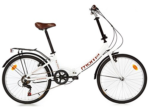 "Moma - Bicicleta Plegable ruedas 24"" SHIMANO. Aluminio."