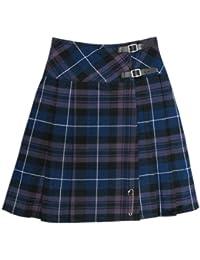 kilt/jupe pour femme - tartan Honour of Scotland - 58,5 cm (longueur)