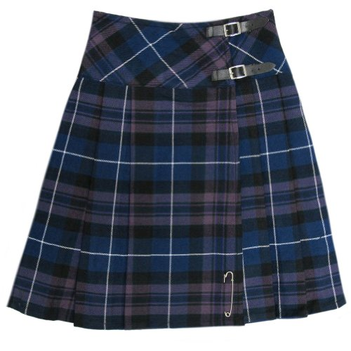 Tartanista Kilt - Honour of Scotland - Damen - Länge 58,5 cm - EU32 UK6