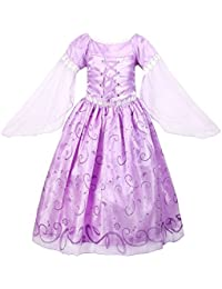 ReliBeauty - Robe - Fille - Princess Raiponce