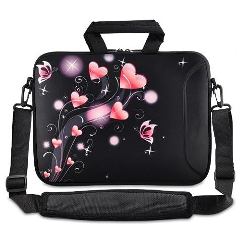 ToLuLu®Pink Heart Bag 9.7