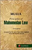 Mulla's Principles of Mahomedan Law
