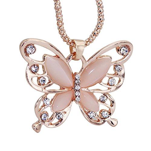 Opal Modeschmuck - Emorias 1 Stück Halskette aus Legierung