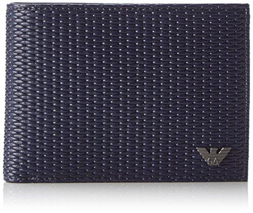Armani Jeans 9380127P922 Herren Geldbörse 2x10x13 cm (B x H x T), Blau (BLU 00535)