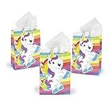 Die besten Fun Express 1. Geburtstags-Geschenke - Fun Express Rainbow Unicorn Geschenk Party Favor Taschen Bewertungen