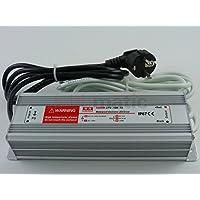 komforthaus LED Netzteil, wasserdicht für den Außeneinsatz, 12 Volt 100Watt IP67 Alugehäuse LPV-100-12