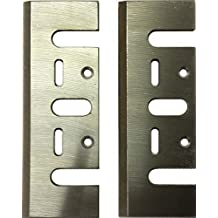 Cuchilla de cepillo HSS para DWT Makita Ryobi 2unidades de cuchilla de repuesto 82x 29x 3mm