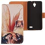 Lankashi PU Case Cover Skin Etui Flip Housse Cuir Coque Protection Pour Bouygues...