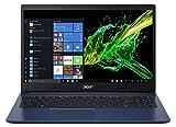 """Acer Aspire 3 A315-55G-78A3 Notebook con Processore Intel Core i7-10510U, Ram da 8 GB DDR4, 1024GB PCIe NVMe SSD, Display 15,6"""" FHD LED LCD, Scheda Grafica NVIDIA GeForce MX230, Windows 10 Home, Blu"""