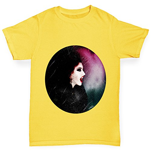 n T-Shirt Halloween The Wicked Witch Print Age 12-14 Gelb ()