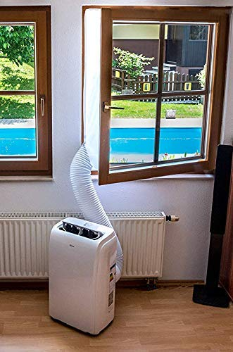Fensterabdichtung für mobile Klimageräte Klimaanlagen Wäschetrockner und Ablufttrockner,400CM,AirLock zum Anbringen an Fenster, Dachfenster Flügelfenster keine Bohrlöcher erforderlich