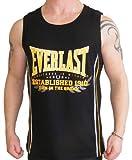 Everlast Herren Tanktop Tankshirt T Shirt Fitnessmode Ärmellos Muskelshirt (S)