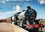Dampfloks 2019 - Eisenbahnkalender, Lokomotivkalender, Broschürenkalender 2019  -  42 x 29,7 cm