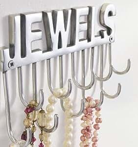 Hakenleiste Schmuckleiste Jewels Aluminium Aufbewahrung