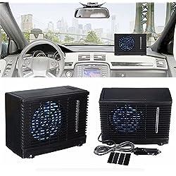 CatcherMy Général 12 V Voiture Réfrigération climatiseur Portable Voiture climatiseur Eau Réfrigération climatisation Ventilateur