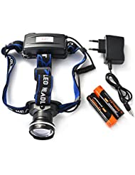 XCSOURCE Rechargeable CREE XM-L T6 LED 1200Lm Phare Chasse Pêche Lampe Torche Faisceau Zoomable LD923