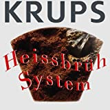 Krups F 309 4C ProAroma Glas-Kaffeemaschine schwarz