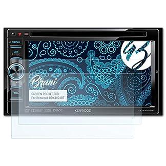 Bruni-Schutzfolie-kompatibel-mit-Kenwood-DDX4023BT-Folie-glasklare-Displayschutzfolie-2X