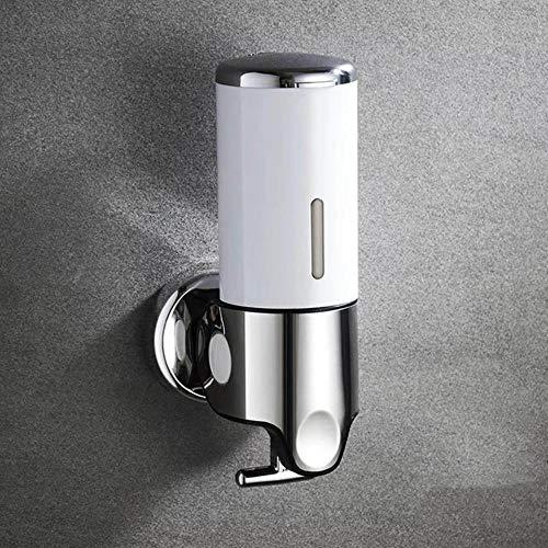 FTFSY Flüssigseifenspender Wandmontage 500ml Kunststoff Shampoo Duschgelspender Händedesinfektionsmittel Home Küche Badzubehör, 500ml-2