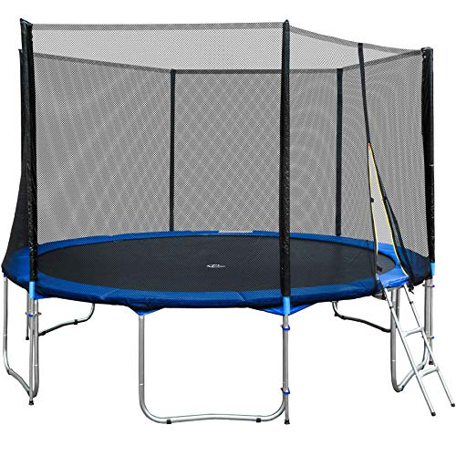TecTake Outdoor Trampolin Gartentrampolin Komplettset - Diverse Größen - (Ø 457cm | Nr. 401901)