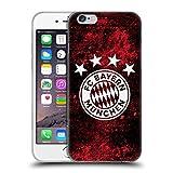 Head Case Designs Offizielle FC Bayern Munich Verzweifelt 2017/18 Muster Soft Gel Hülle für iPhone 6 / iPhone 6s