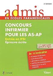 Concours Infirmier pour les AS-AP - Entrée en IFSI - Epreuve écrite - Admis - Je m'entraîne