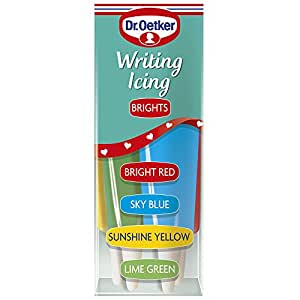 Dr Oetker Coloured Writing Icing