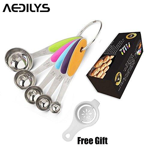 aedilys-best-cucchiai-dosatori-per-secco-e-ingredienti-liquidi-separatore-di-uova-design-ergonomico-