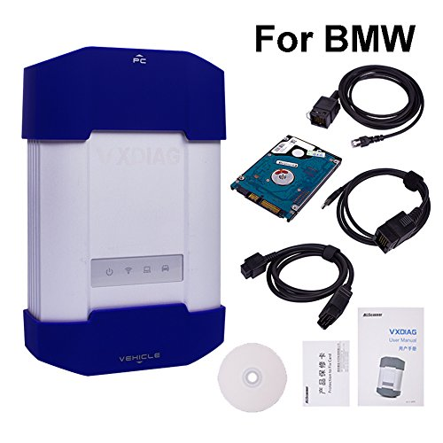 Preisvergleich Produktbild vxdiag Professionelle Auto-Diagnose Werkzeug für BMW Auto Code Reader OBD 2 II Scanner wie BMW ICOM A1 / A2 / A3 Original Software Perform Programmierung und Codierung für alle BMW E / F / G Serie Cars