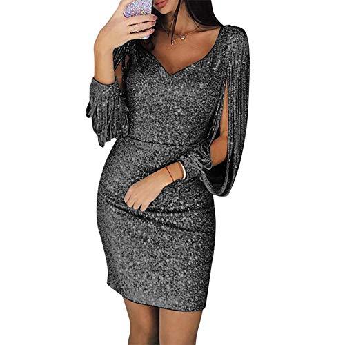 Chinkyo - Vestido de Noche Corto para Mujer
