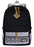 Galaxy-Muster Vintage Style Unisex Art und Weise beiläufige Schule Travel Laptop-Rucksack-Rucksack Daypack Tablet Taschen
