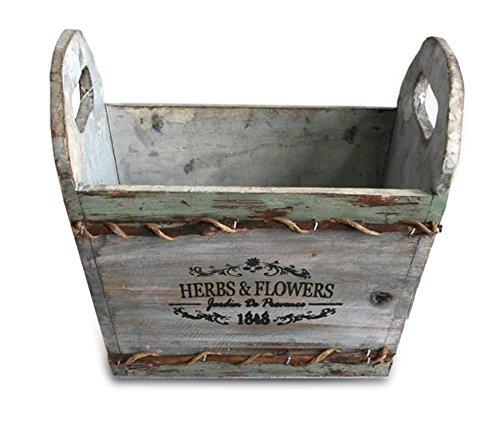 Herbs Pot & Flowers (22 * 13,5 * 19,5 cm.)