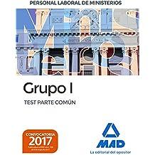 Personal laboral de Ministerios Grupo I. Test Parte Común
